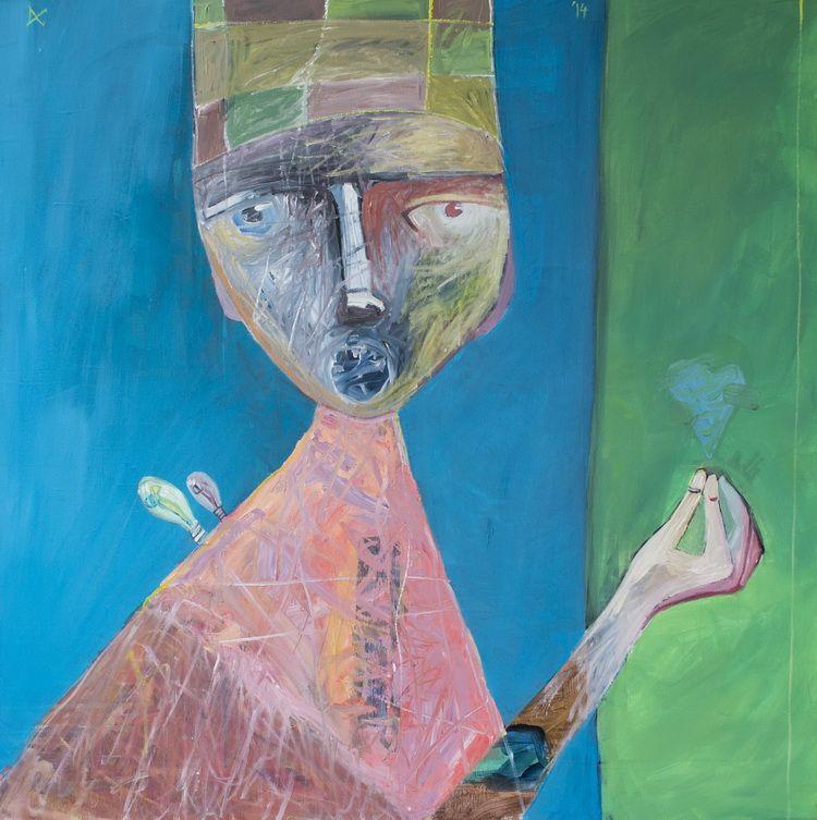 locasul sufletului,acryl pe panza,100,2014