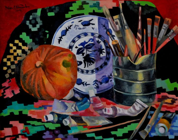 STILL LIFE WITH BRUSCHES