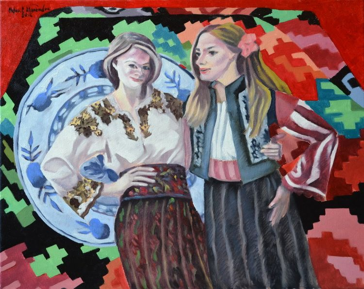 YOUNG GIRLS FROM BUCOVINA