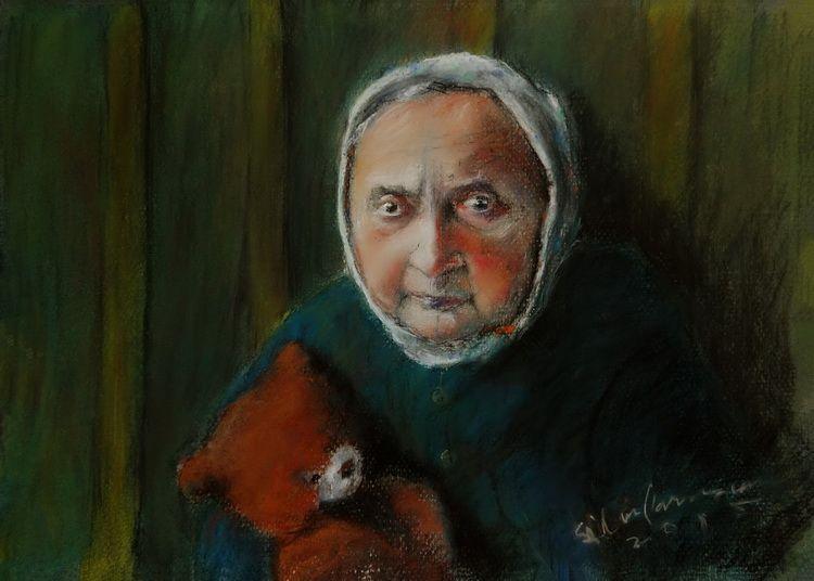 SEMNELE VREMII - pastel, 3042, 2015. Silviu Parascan