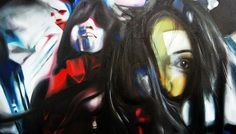 Supersonic-life,-2013,-100-100cm,-oil-on-canvavs