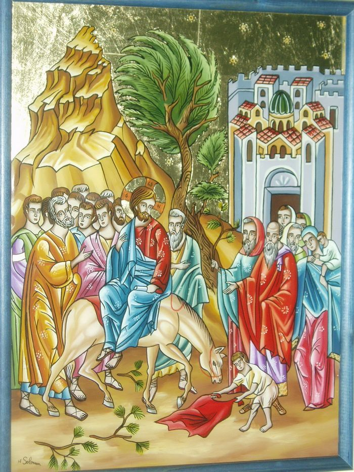 12 Intrarea in Ierusalim
