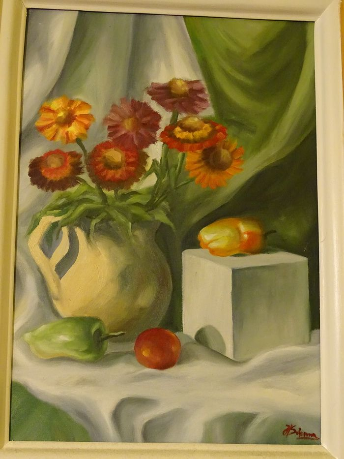 6 Natura moarta cu flori neaose