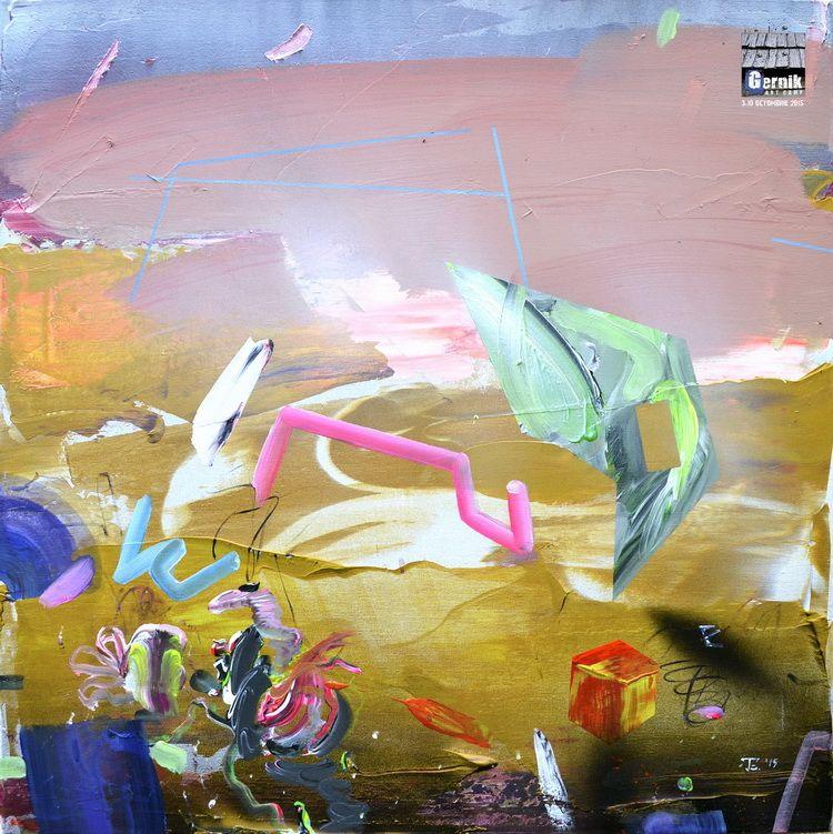 Edith Torony_Gernik_Debus Field_acrylic_canvas_60_60cm_Gernik_2015_resize
