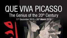 Poster Que Viva Picasso Cantacuzino Castle Busten2i