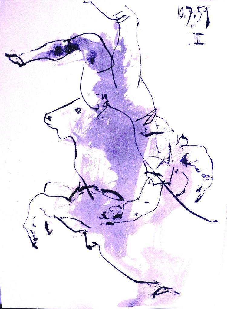 Toros y Toreros 1959_Pablo Picasso_Litography