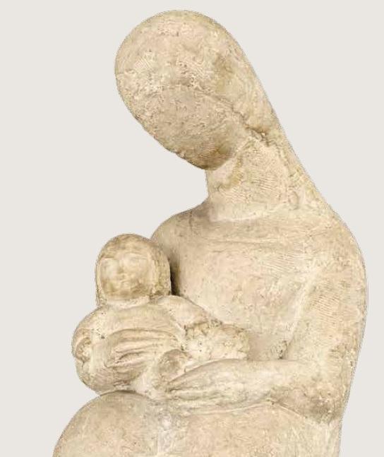 Irina Codreano - Maternitate (detaliu)