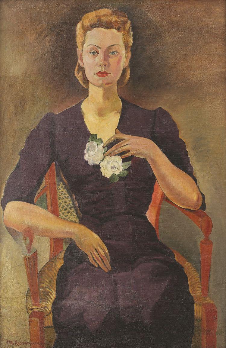 Merica Ramniceanu Portretul Cellei Serghi (colectie particulara, lucrarea nu este in expozitie)