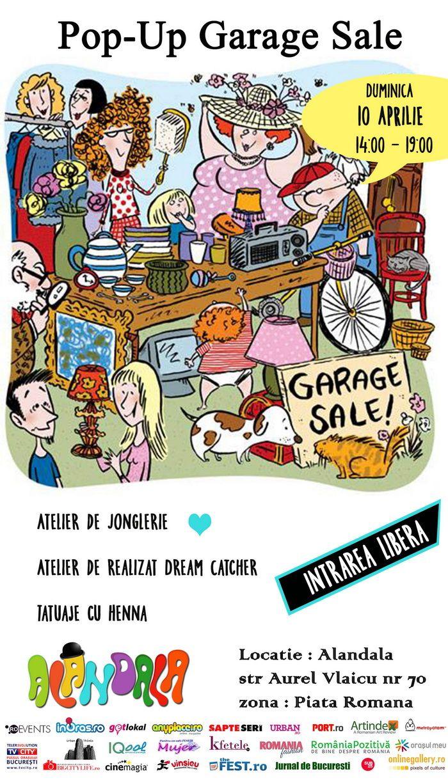 Pop Up Garage : Artindex pop up garage sale în alandala