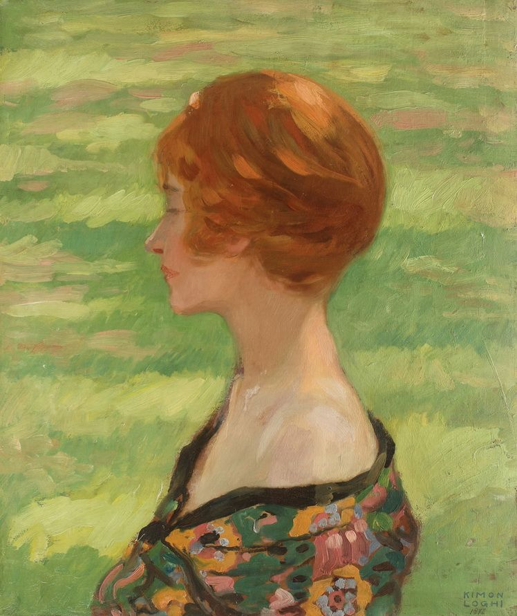 Kimon Loghi, Hermina (Portretul sotiei artistului)