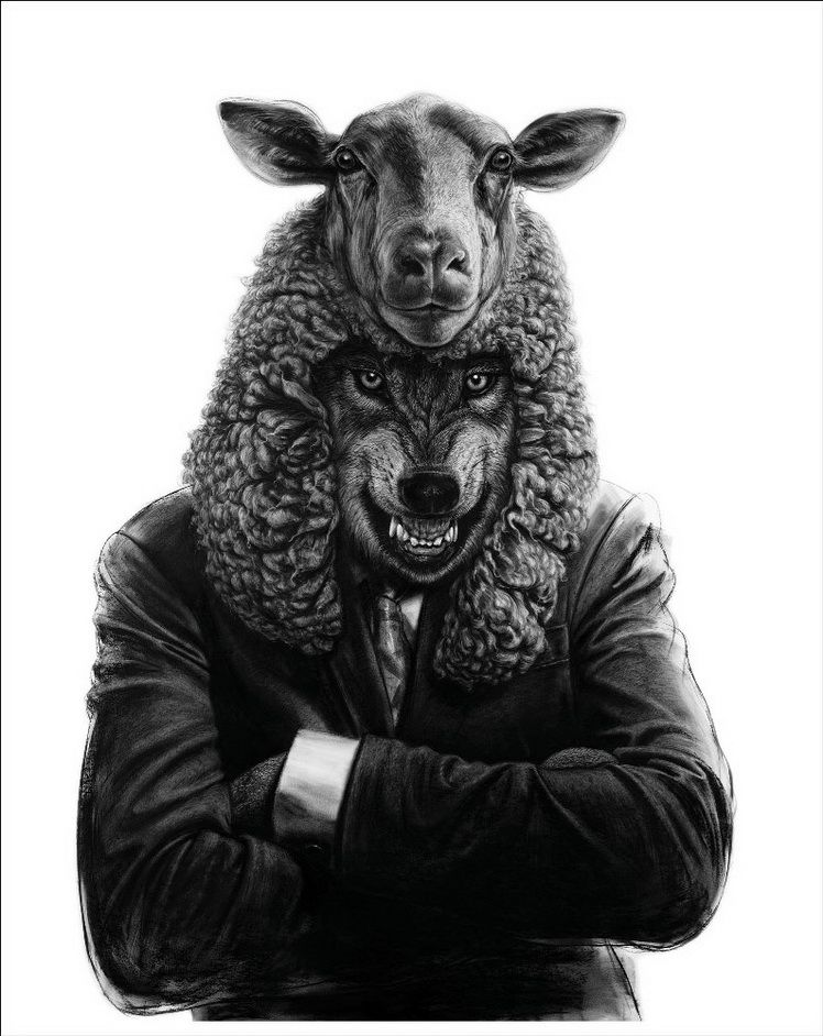Valeriu Mladin, Animal Politic 9 (Political Bestiary Project)