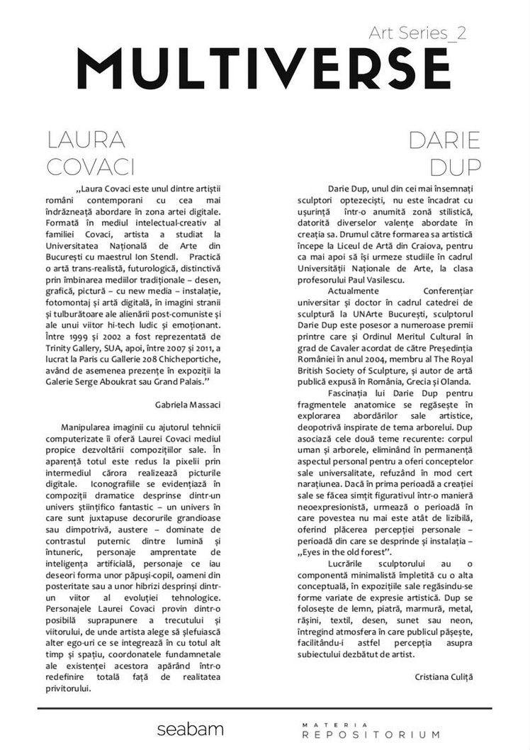 Despre Laura Covaci si Darie Dup