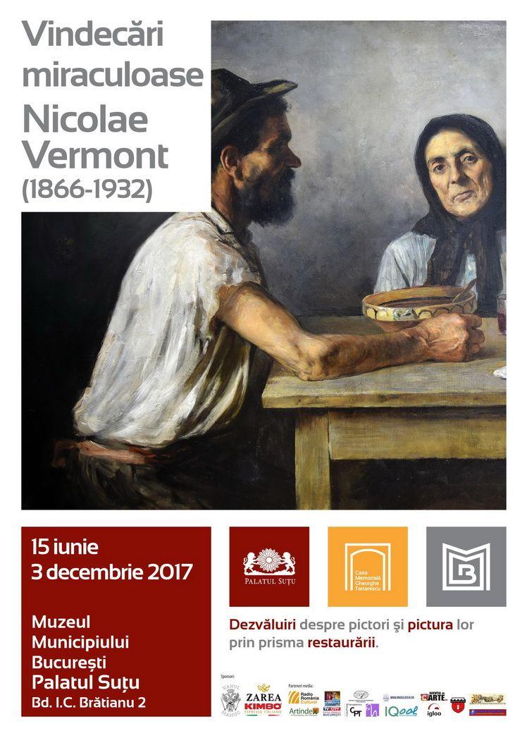 Afis_Vernisaj Nicolae Vermont_Vindecari miraculoase