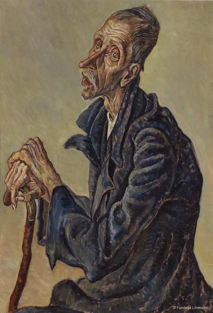 04. George Löwendal - Pensionar de la azilul de batrani, 1933 © Fundația Löwendal