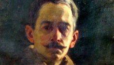 1. Nicolae Mantu, Autoportret (Muzeul de Arta Vizufala Galati)