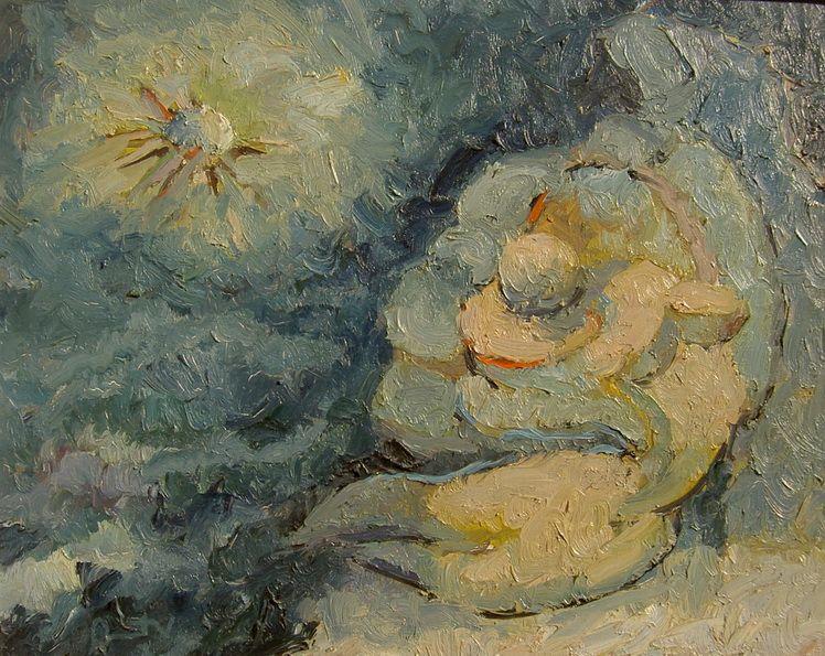 11. Vasile Onut, Nocturna (ulei pe panza)