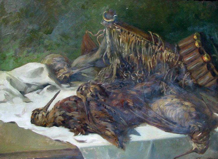 21. Nicolae Mantu, Sitari, Muzeul de Arta Vuzuala Galati