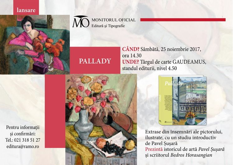Invitatie Pallady Gaudeamus 2017