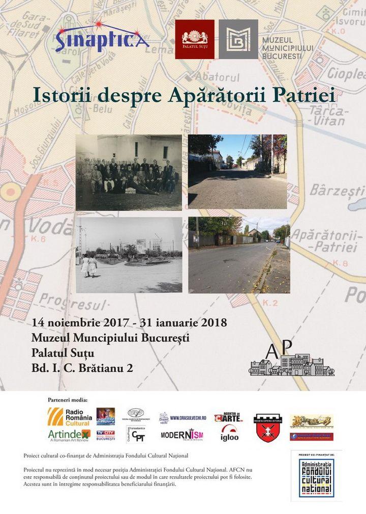 afis expo Istorii despre Aparatorii Patriei_MMB