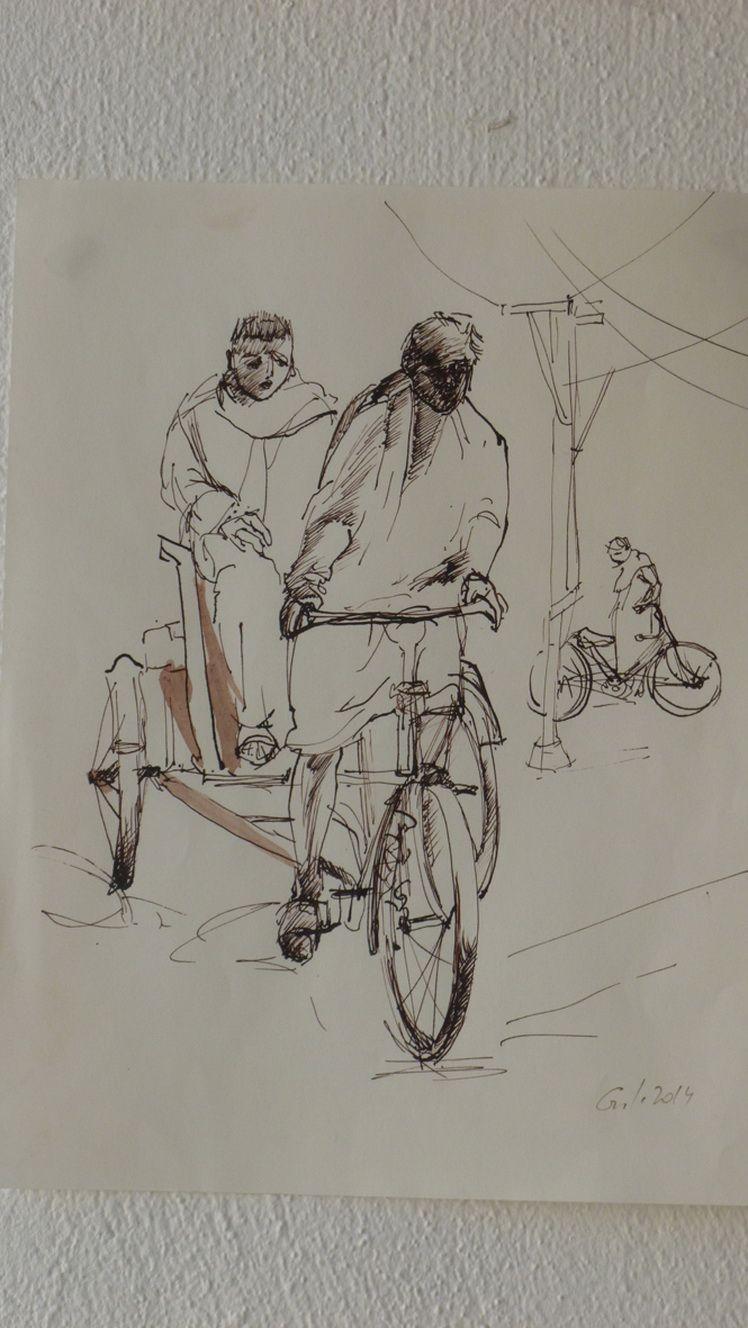 pe drum cu bi tri cicleta
