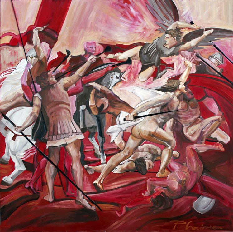 PAULA_CRAIOVEANU _GLORIOUS BASTARDS_OIL ON CANVAS