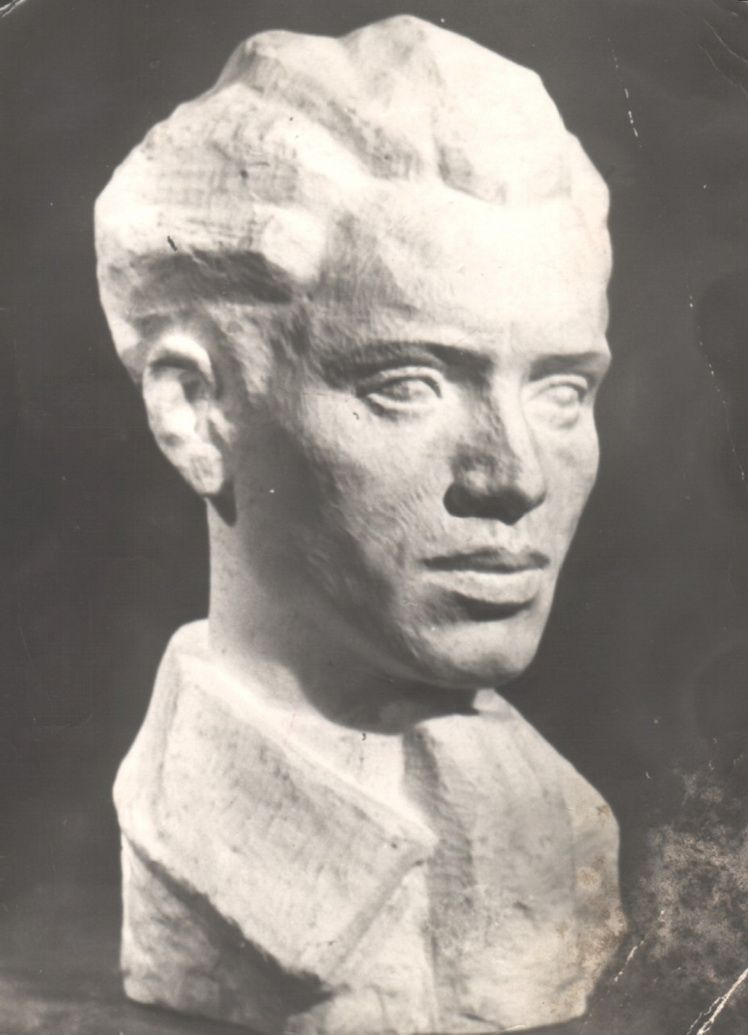 0 1. Marcel Grosu, Autoportret, 1957