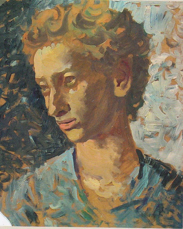 13. Dorothea (Lola) Schmierer-Roth, Portretul mpictoriței Jeanne Coppel