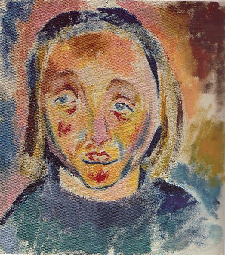 17. Dorothea (Lola) Schmierer-Roth, Cap de expresie