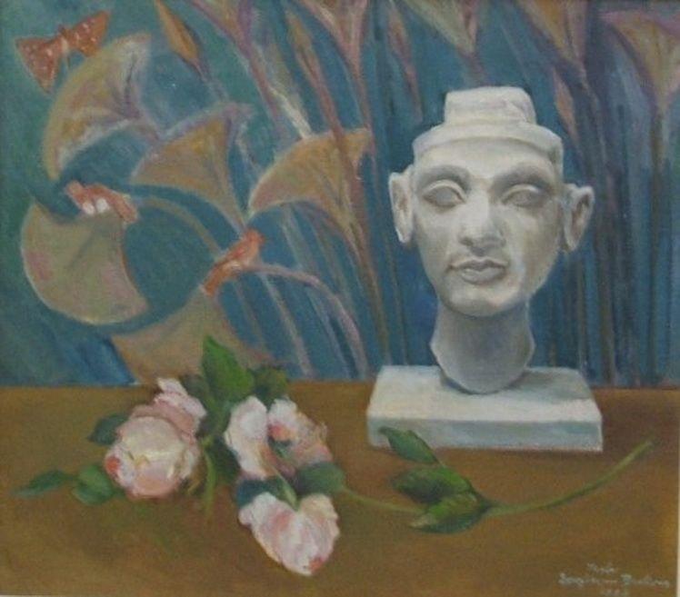 19. Mala Bedivan - Natura statica cu Nefertiti