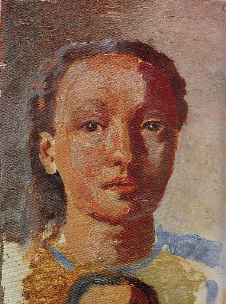 20. Dorothea (Lola) Schmierer-Roth, Cap de fată