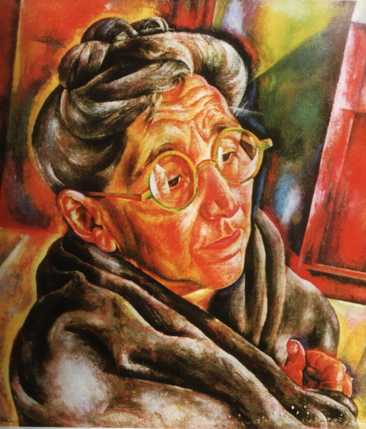 3. Dorothea (Lola) Schmierer-Roth, Portretul mamei artistei