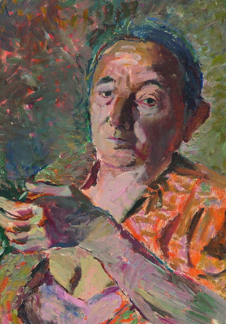 4. Dorothea (Lola) Schmierer-Roth, Autoportre