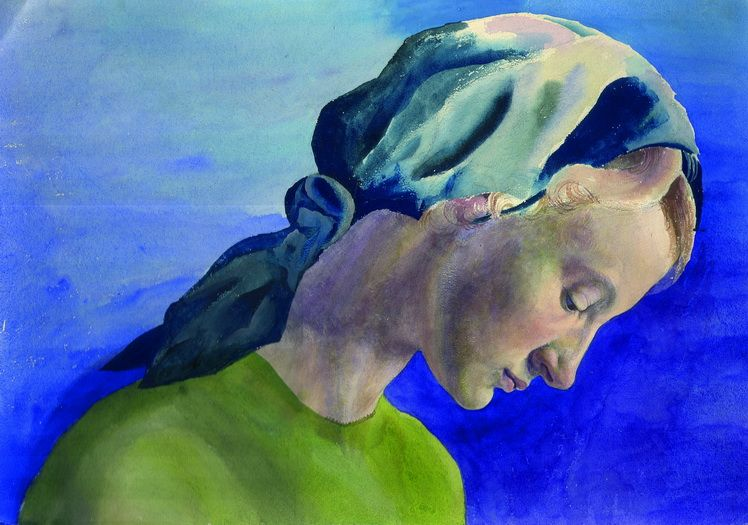 6. Dorothea (Lola) Schmierer-Roth, Fata cu basma albastra