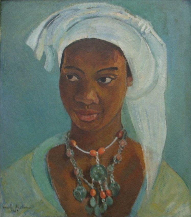6. Mala Bedivan - Femeie cu turban