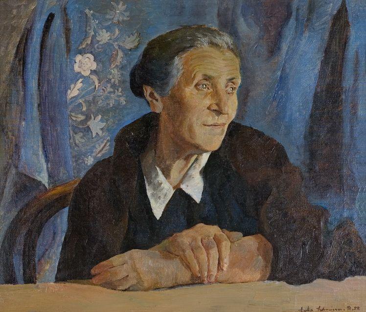 8. Dorothea (Lola) Schmierer-Roth, Visare, u.p., 54 65,6 cm