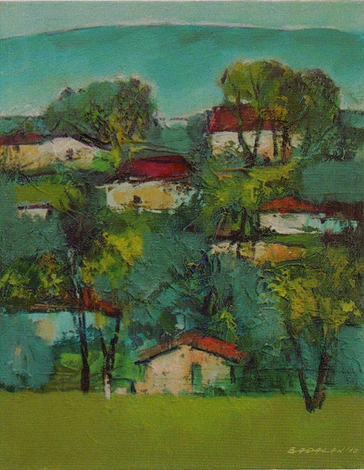 8. Sterica Badalan, Case la Breaza, u.p., 50 40 cm