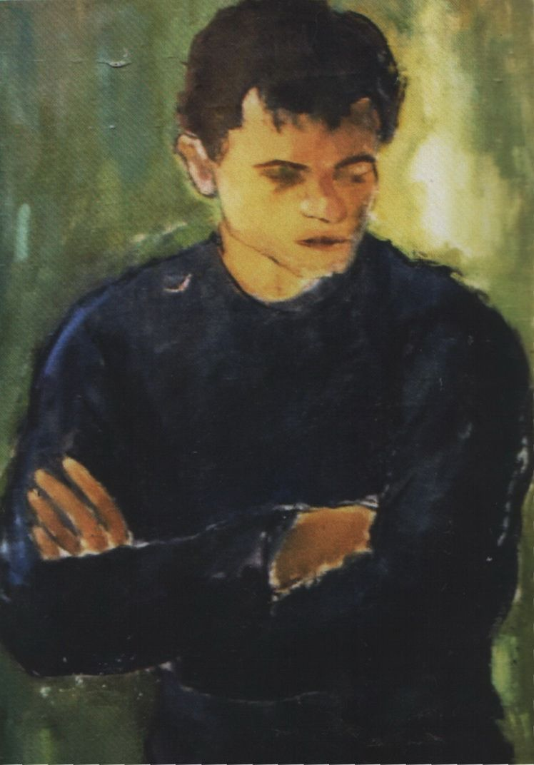 G. H. 4. Gina Hagiu, Poetul Grigore Hagiu, u.p. 8059 cm