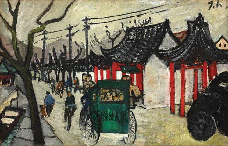 G. H. 5. Gina Hagiu, De-a lungul canalului (China)