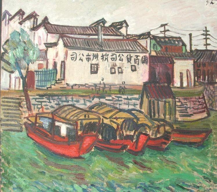 G. H. 7. Gina Hagiu, Barci rosii