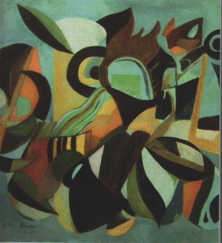 G. H. 8. Gina Hagiu, Sonet de toamna (Ciclul Pasari si Fluturi) u.p., 132,5125 cm, 1975