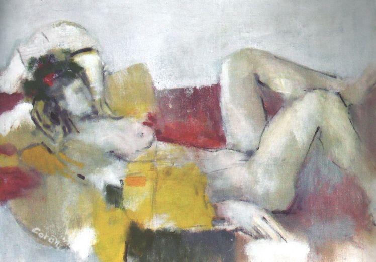10. Gheorghe Mihai-Coron, Nud, u.p., 47x66 cm
