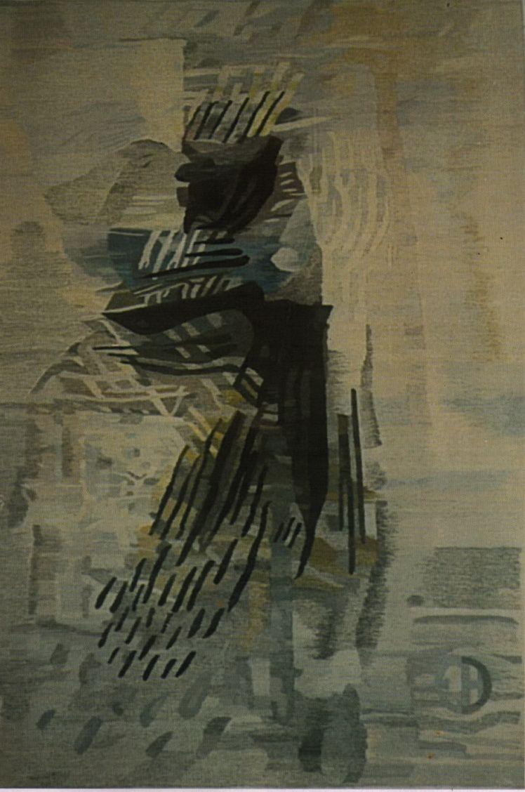 11. Eugen Holban, Zburatorul, tapiserie, 200x 150 cm