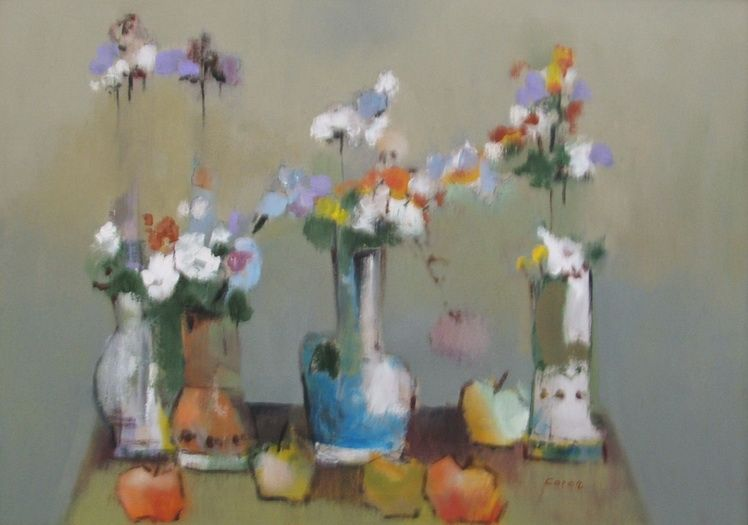 14. Gheorghe Mihai-Coron, Vase cu flori