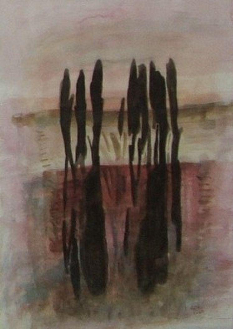 2. Eugen Hoban - Reflexe (Acuarela)