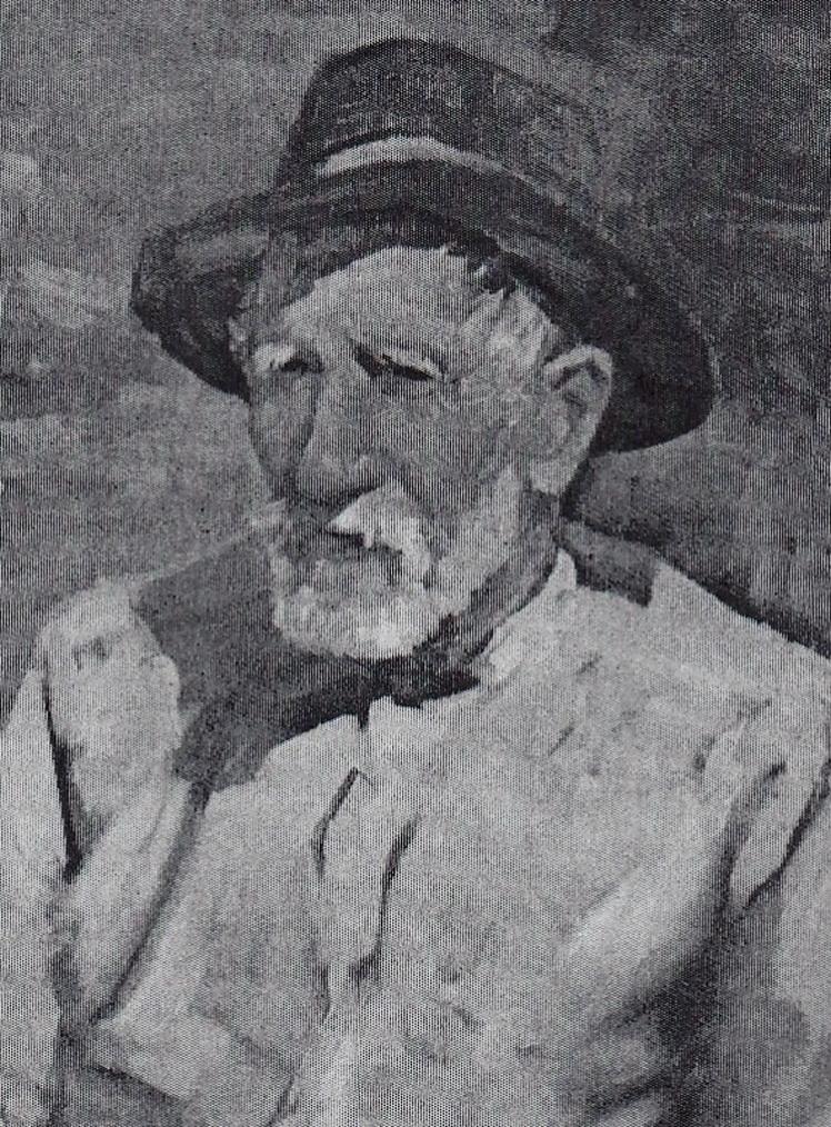 7. Gheorghe Levcovici, Portret de țăran