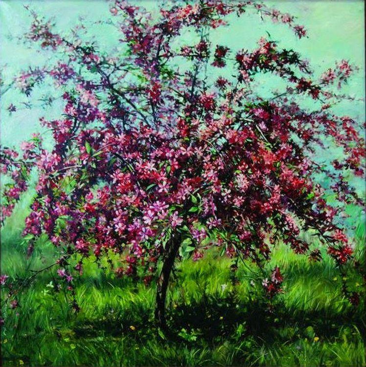 20. Gherorghe Miron, Un copac cu flori