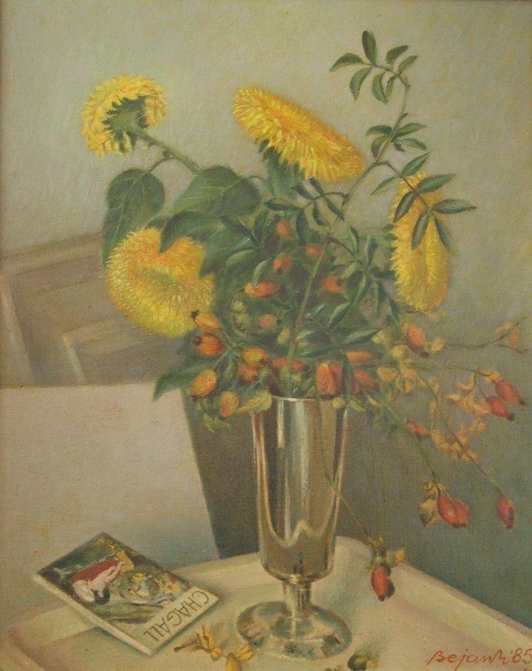3. Marcel Bejan, Floarea soarelui si macese