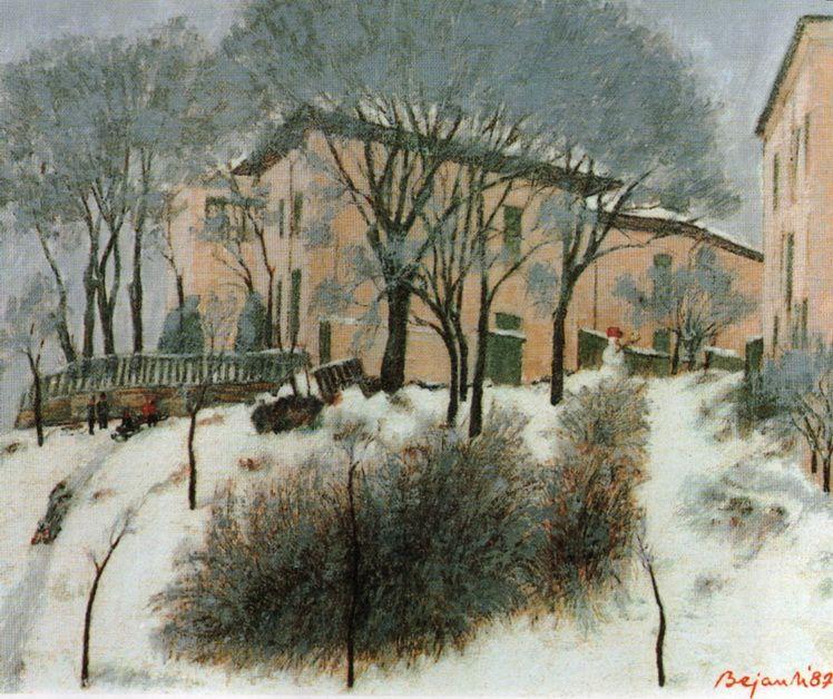 4. Marcel Bejan, Iarna II