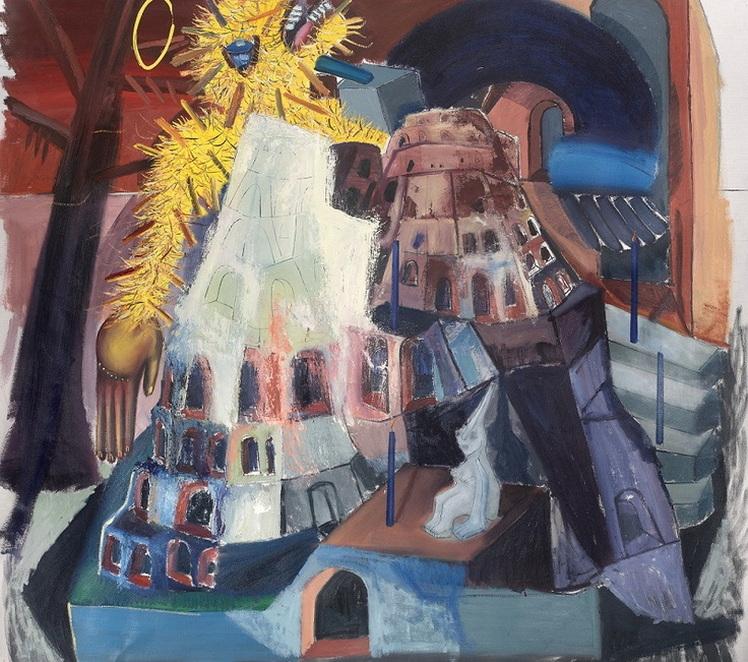 Tincuta Marin - Bigfoot in Babel, 2021 - 748 - Copy